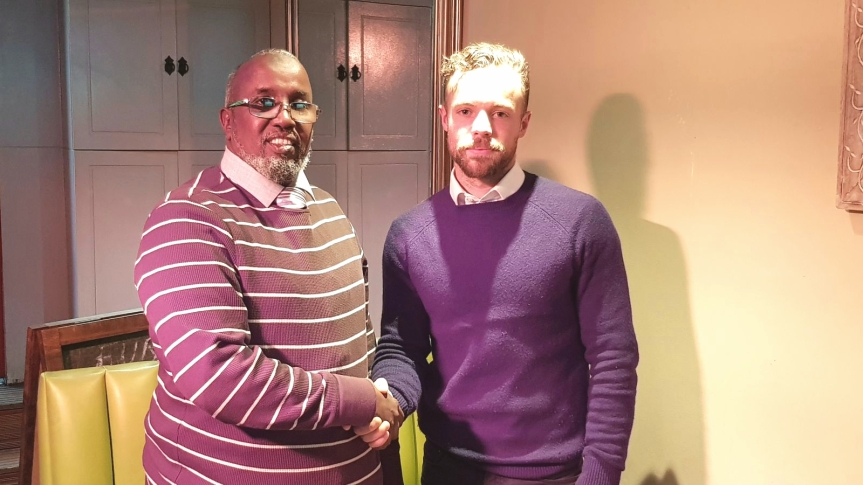 Somalis appreciate the appointment of Richard Moore as the country's National boxing teamcoach.
