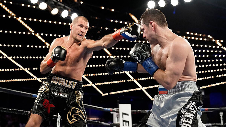 Sergey Kovalev grinds down IgorMikhalkin